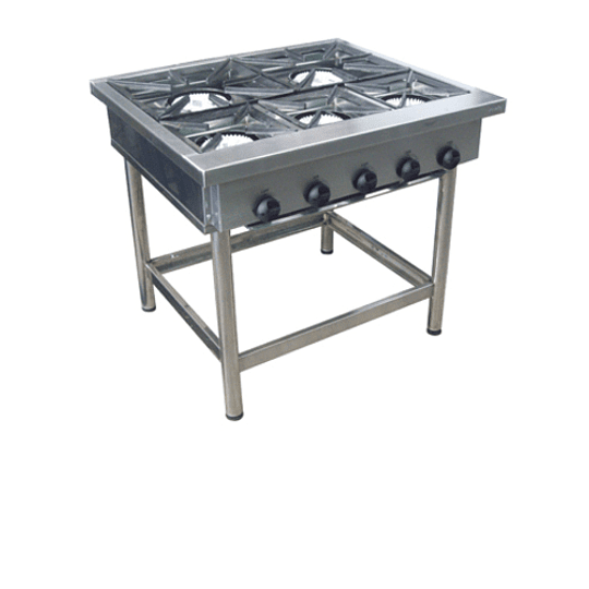 Anafe Industrial 5 platos / 3 de 270x270 - 2 de 430x430 mm MAIGAS