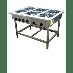 Anafe Industrial 6 platos 350x350 mm MAIGAS
