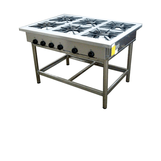 Anafe Industrial 6 platos 350x350 mm MAIGAS - Image 2