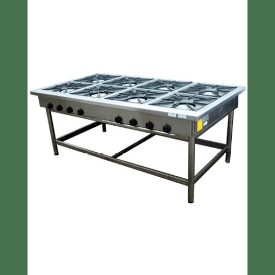 Anafe Industrial 8 platos 430x430 mm MAIGAS