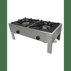 Anafe Industrial 2 platos Bajo 430x430 mm MAIGAS