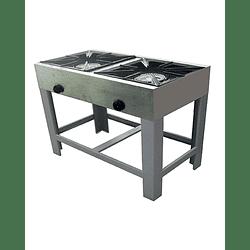 Anafe Industrial 2 platos 430x430 mm MAIGAS