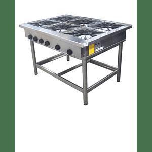 Anafe Industrial 6 platos 430x430 mm MAIGAS