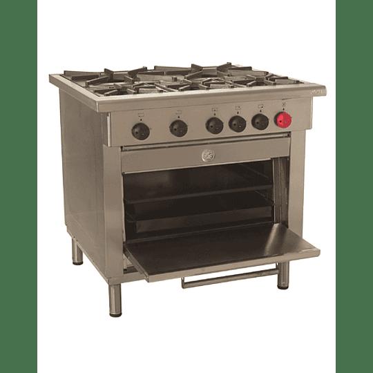 Cocina Industrial 5 platos MAIGAS - Image 1