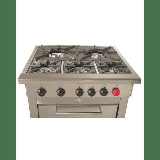 Cocina Industrial 5 platos MAIGAS - Image 3