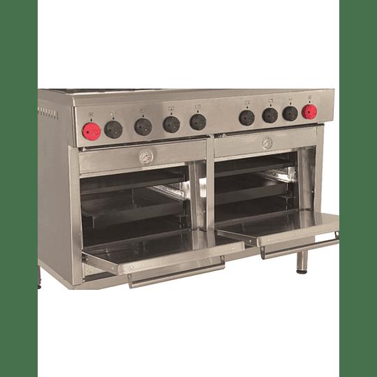 Cocina Industrial 6 platos con plancha churrasquera MAIGAS  - Image 4