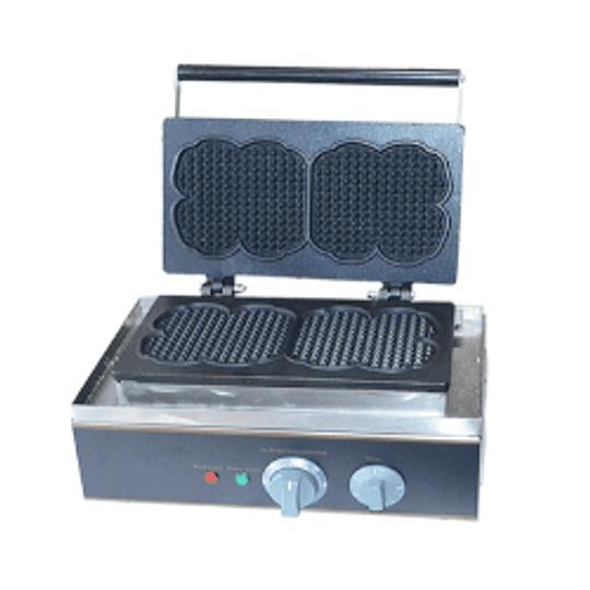 Máquina para waffles simple diseño corazón ECOBECK