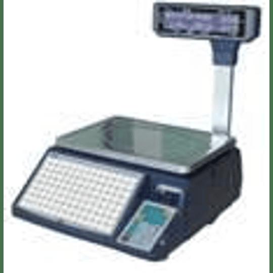 Balanza tipificadora impresor de vale térmico Visor aéreo ECOBECK