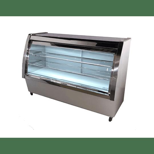 Mesón Refrigerado semi curvo 1.5 Mts. G&T  - Image 2