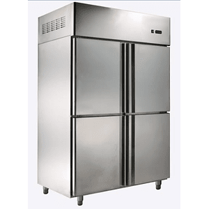 Refrigerador Industrial Dual 4 cuerpos 917 Lts FRIÓ ESTÁTICO ECOBECK