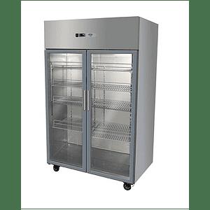 Refrigerador Industrial 1000 Lt. 2 Puertas Vidrio