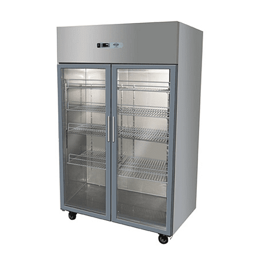 Refrigerador Industrial 1000 Lt. 2 Puertas Vidrio - Image 1
