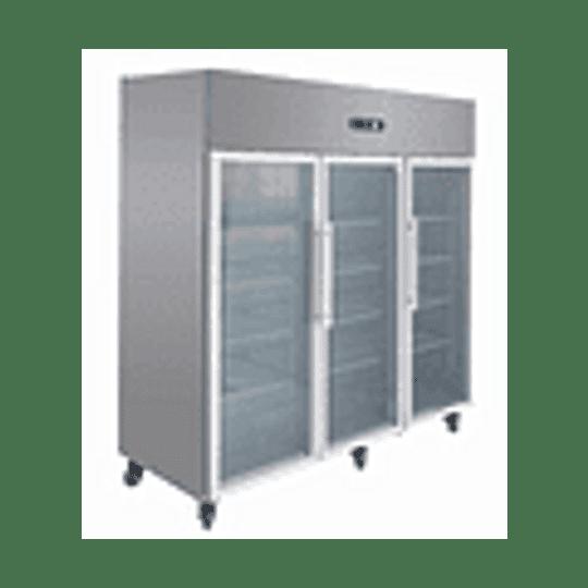 Refrigerador Industrial 1500 Lt. 3 Puertas de Vidrio - Image 4