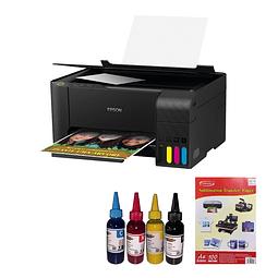 Impresora de sublimar + Tinta de sublimar + papel para sublimar