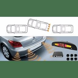 Sensor De Retroceso 4 Puntos Automovil