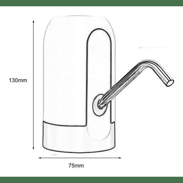 Dispensador Bomba Eléctrica De Agua Bidón Recargable