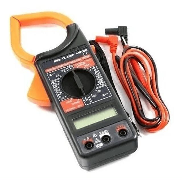 Tester Pinza Multitester Amperímetro Digital