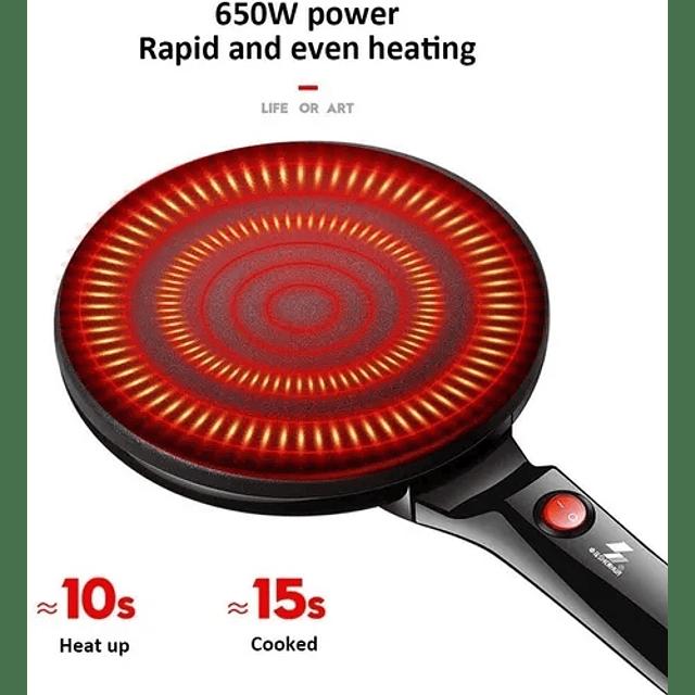 Panquequera Crepe Panqueques Eléctrica