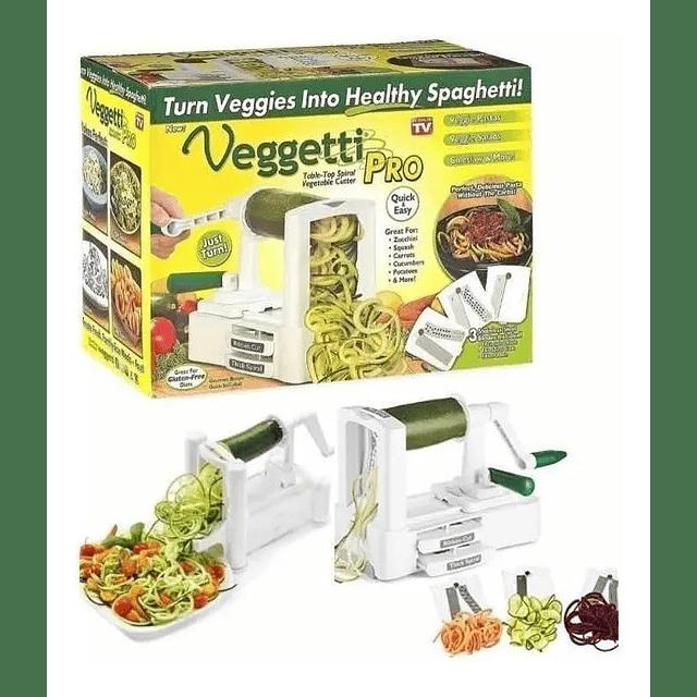 Cortador Rallador Verdura Espiral Pasta Vegetales Cocina