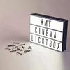 Caja Luz Led Ligthbox A4 Letras Emojis