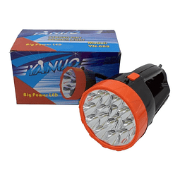 Linterna Led Tercera Edad Recargable Led