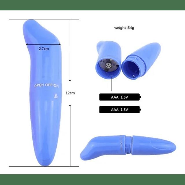 Vibrador Consolador Estimulador Bala Clitoris Mujeres