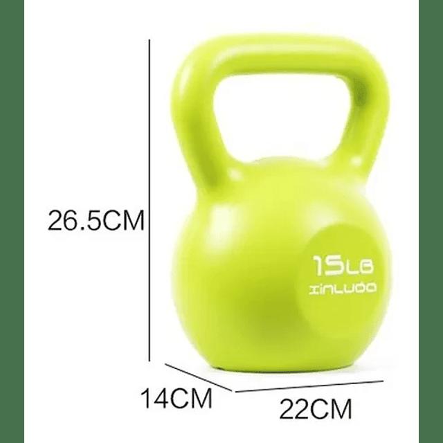 Pesa Rusa Kettlebell 15 L Entrenamiento / Crossfit / Fitness