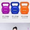 Pesa Rusa Kettlebell 10 L Entrenamiento / Crossfit / Fitness