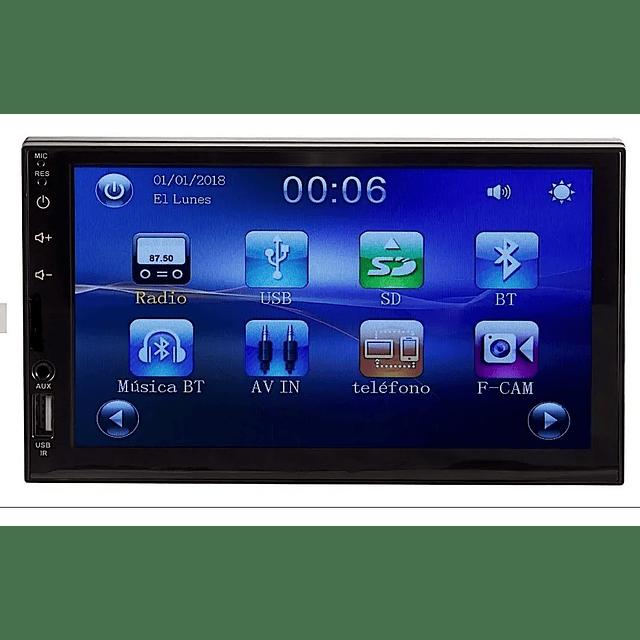 Radio Auto 2 Din Touch 7 Pulgadas Android 10.1