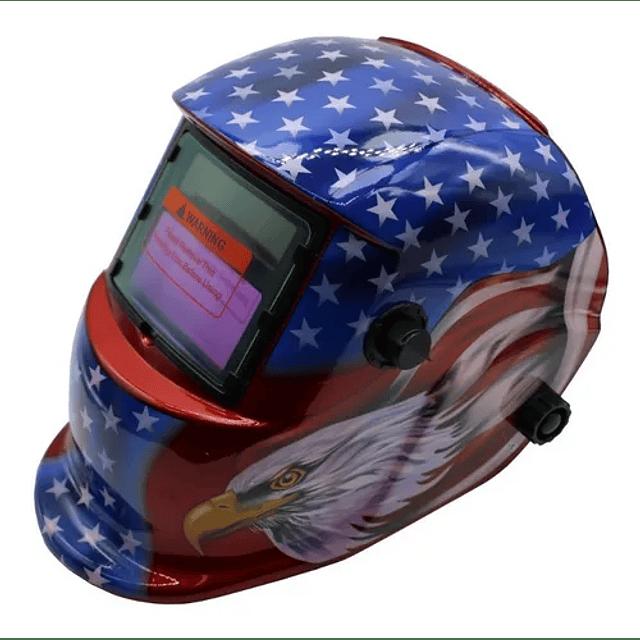Mascara Soldar Fotosensible Aguila Americana