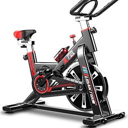 Bicicleta Spinning Ajustable Resistencia Cardio Ergonómica