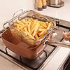 Pack Sarten Antiadherente Cocina Set Sarten De Cobre 4 Pzas