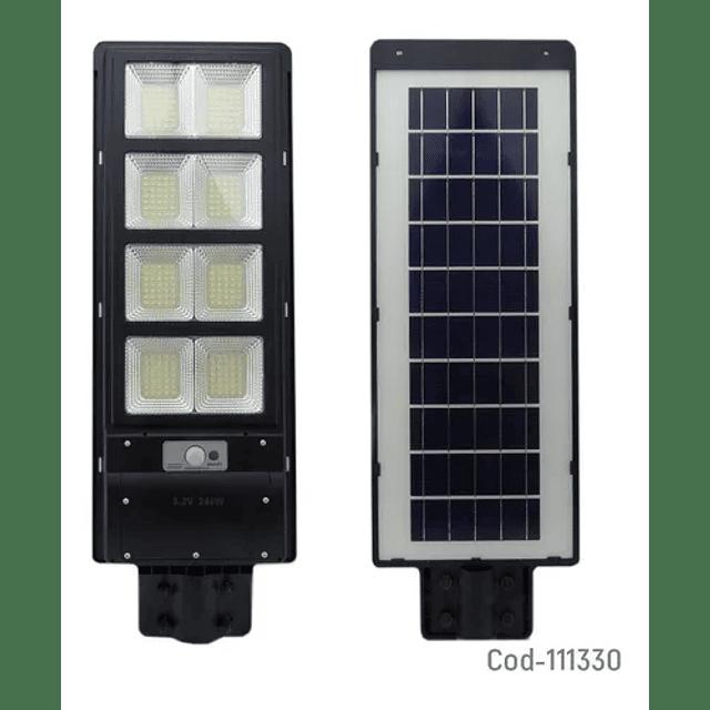 Foco Led Solar Luminaria Panel Proyector Sensor 240w
