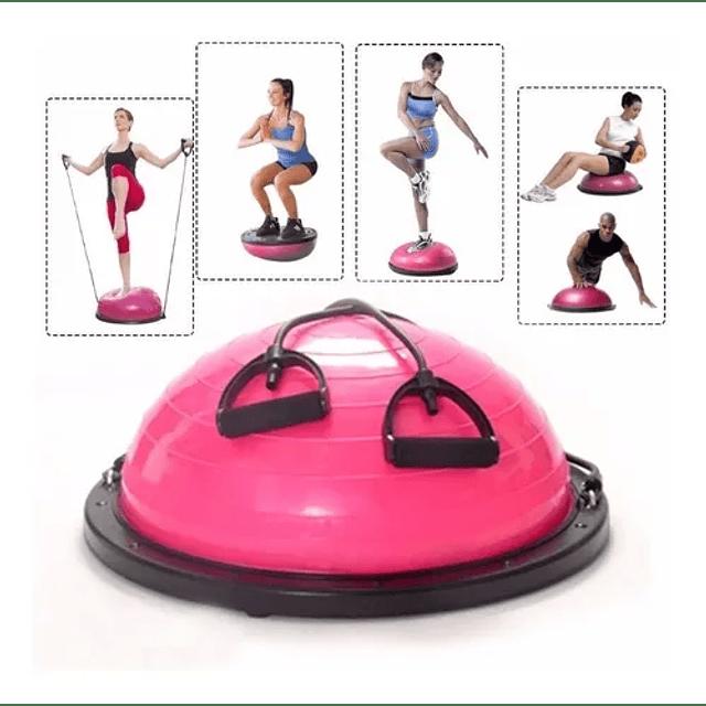 Balon Bosu Gym Yoga Semiesfera Resistencia