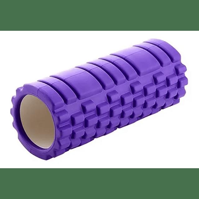 Rodillo Resina Yoga Masaje Muscular Ejercicio Cilindro Rolle