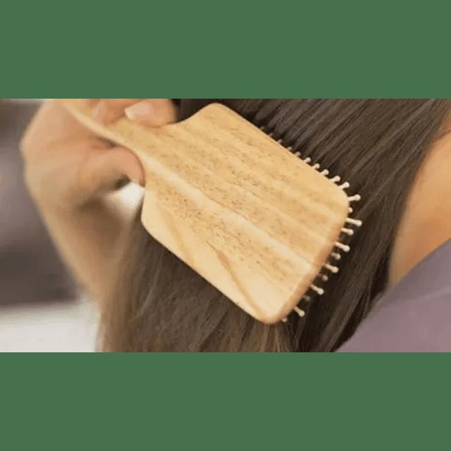 Cepillo Para El Cabello Cabello De Bambú Ecologico
