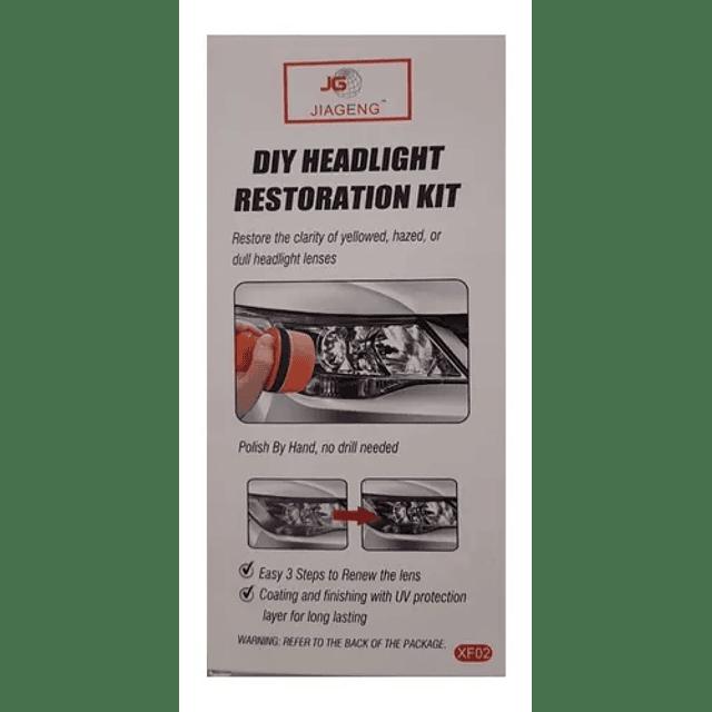 Kit Repara Optico Pulidor De Foco Pulir Limpiar