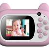 Mini Cámara Digital Impresión Instantánea Niños Regalos