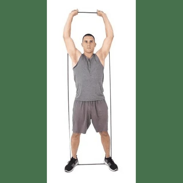Banda Loop Elásticas De Látex Resistencia 13mm X 2mts