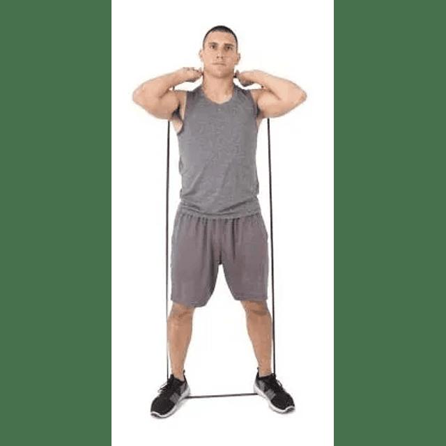 Banda Elástica De Resistencia Ejercicio 32mm X 2mts