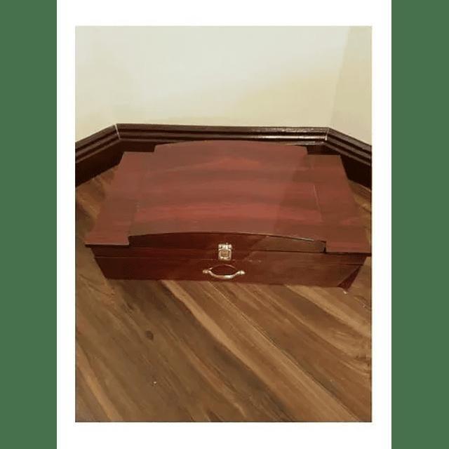 Set Cubiertos 72 Piezas De Lujo Maleta De Madera