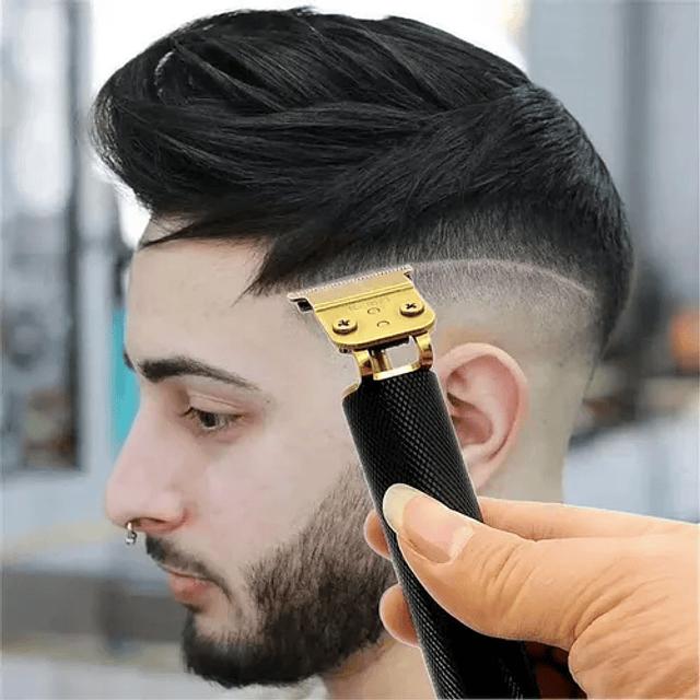 Maquina Cortar Pelo Cabello Barba Recargable Inalambrica