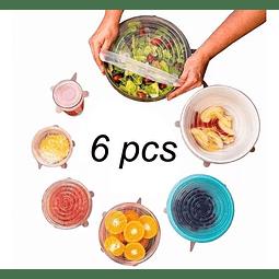 Tapas Silicona Alimentos Frescos Stretch And Fresh