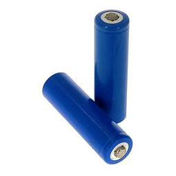 Pack 2 Pilas Baterias 14500 3.7v Li-ion 1200 Mah Linterna