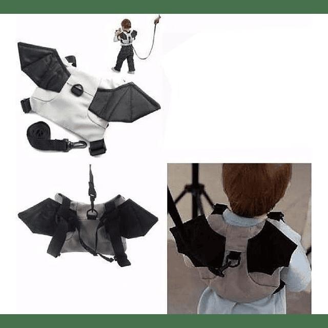 Mochila Arnes Seguridad Para Bebes Niños Murcielago