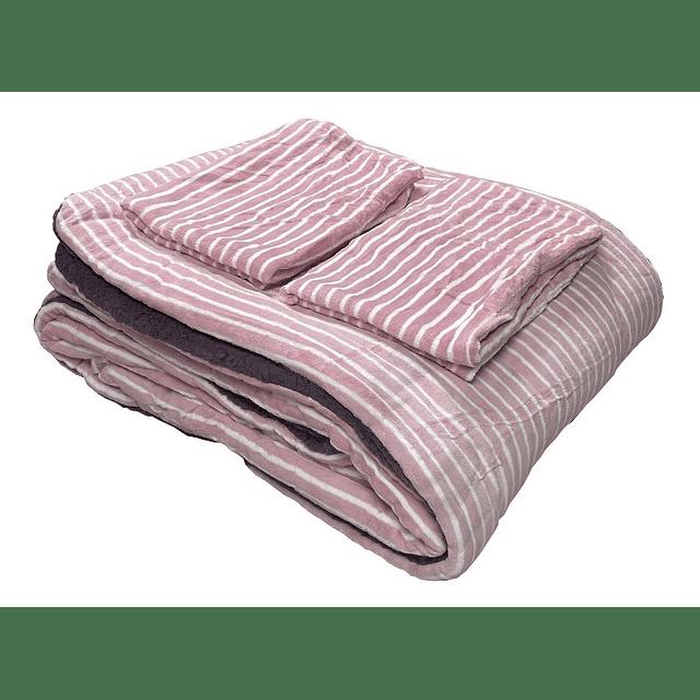 Cobertor Cama 2 Plaza Cubrecama Polar Chiporro Diseños