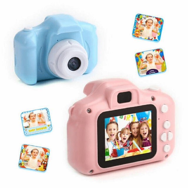 Regalo Mini Cámara Fotográfica Digital Para Niños Portatil