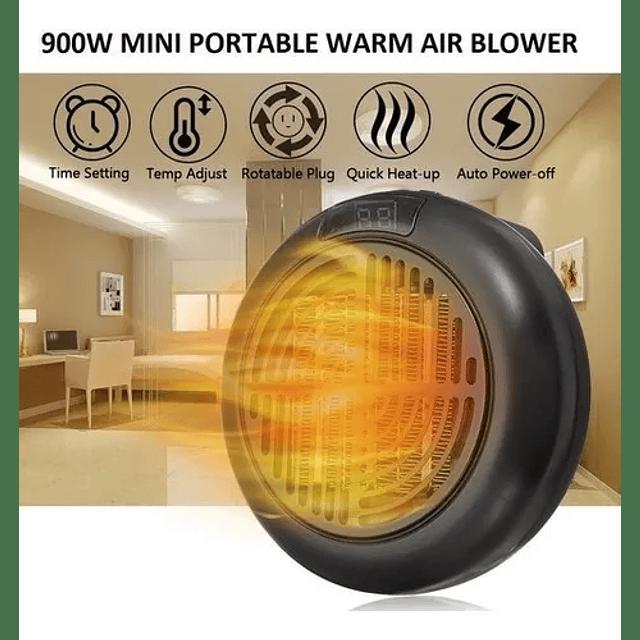 Calefactor Ambiental 900w Portatil Invierno