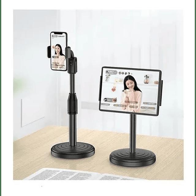 Soporte Celular Teléfono Escritorio Ajustable 360°