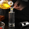 Dispensador Spray Rociador Aceite Vinagre Botella De Vidrio